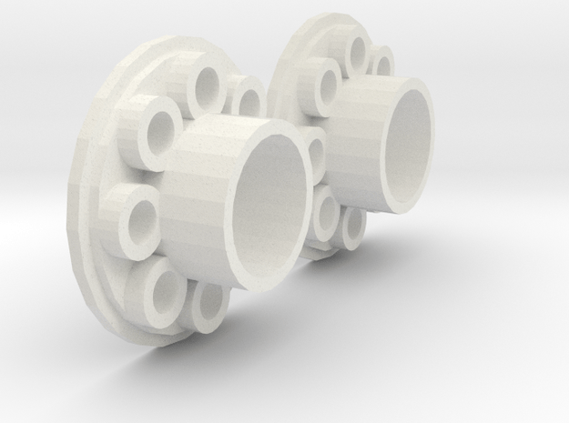 AXIAL LED Type A in White Natural Versatile Plastic