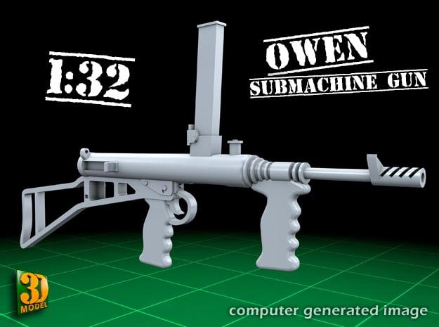 Owengun (1:32) in Smooth Fine Detail Plastic