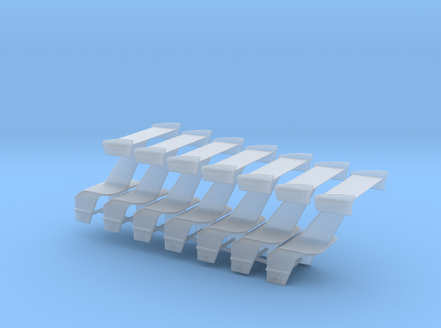 Wing With Motorbox 7 Pack in Smooth Fine Detail Plastic