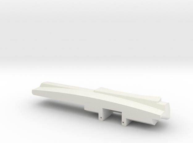 Vaterra Ascender K10 - Dash Board 1 of 2 in White Natural Versatile Plastic