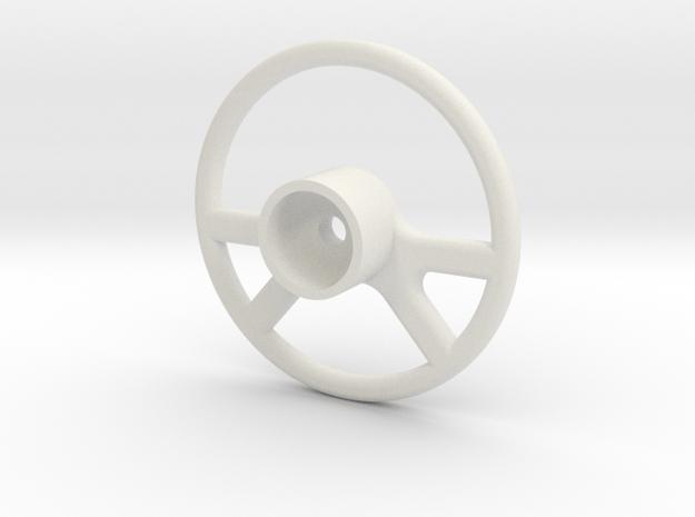 Vaterra Ascender K10 - Steering Wheel 2 of 2 in White Natural Versatile Plastic