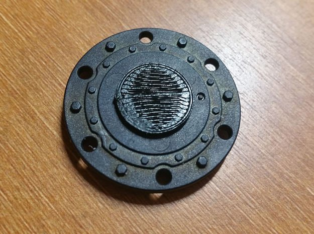 JConcepts Tribute Wheels Plug in Black Natural Versatile Plastic