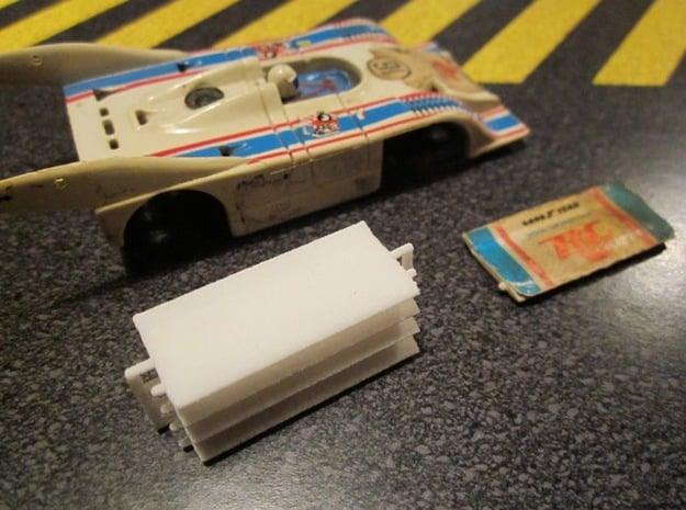 HO AFX Porsche 917 RC Cola Wing in White Natural Versatile Plastic