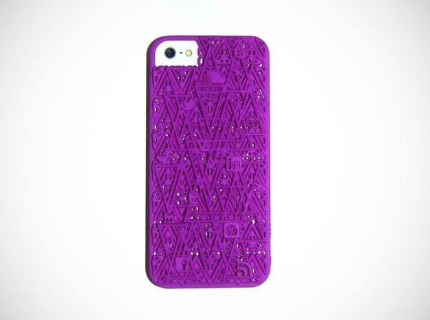 RAM iPhone 5 Cover  in Purple Processed Versatile Plastic