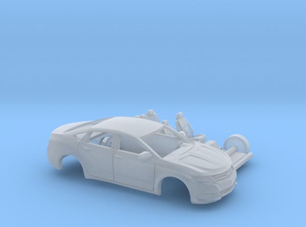 1/160 2013-17 Chevrolet Impala Sedan 2 Piece Kit in Smooth Fine Detail Plastic