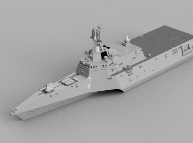 1/1800 USS Independence in Smooth Fine Detail Plastic