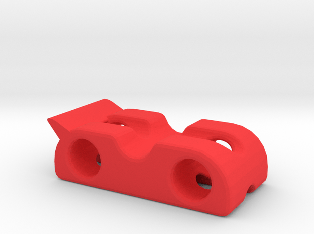 Car chassis 1 in Red Processed Versatile Plastic