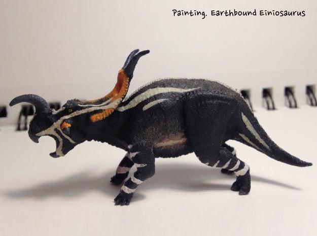 Einiosaurus(Small/Medium/Large size) in White Natural Versatile Plastic: Small