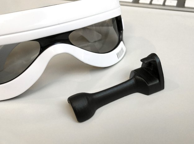 Star Wars 3D Glasses Mount in Black Natural Versatile Plastic