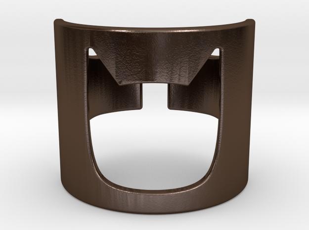 BATMAN Ring 190mm in Polished Bronze Steel