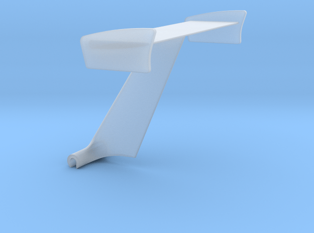 Wing With Tube Mount 36 in Smooth Fine Detail Plastic