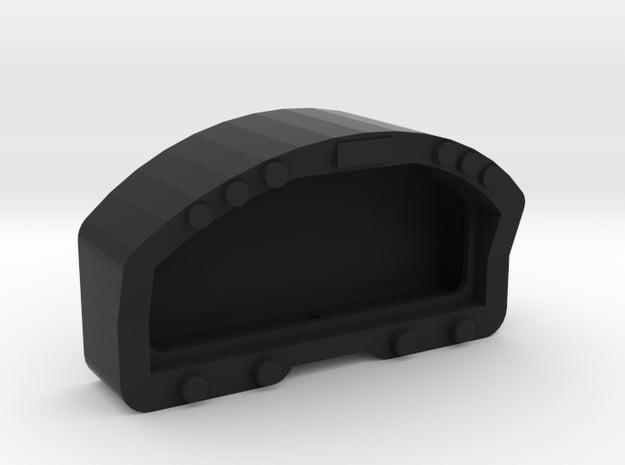1/10 SCALE RACEPAK DISPLAY in Black Natural Versatile Plastic