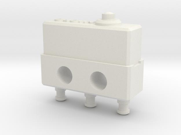 Honeywell Micro Switch in White Natural Versatile Plastic