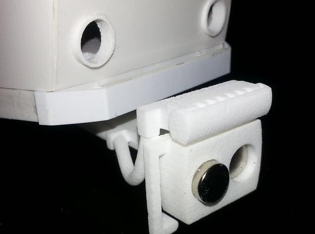 Magnet - Scharfenbergkupplung Tatra-Tw IIm/LGB 2x in White Natural Versatile Plastic