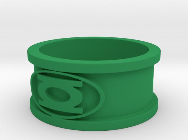 Lantern Ring in Green Processed Versatile Plastic: 9 / 59