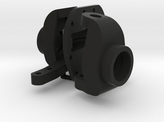 Axle Part 2 in Black Natural Versatile Plastic