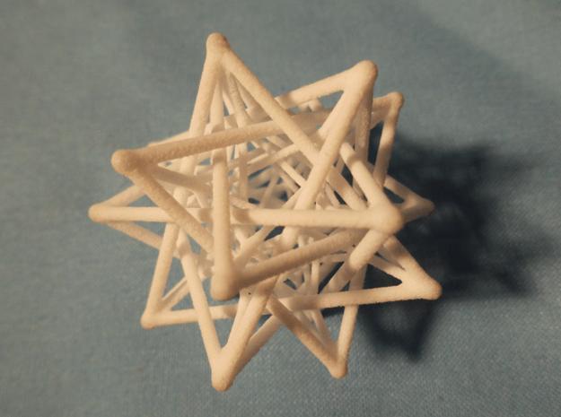 Flexo the Star in White Natural Versatile Plastic