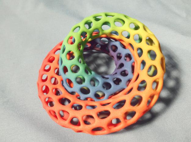 The other Klein bottle (color) in Full Color Sandstone