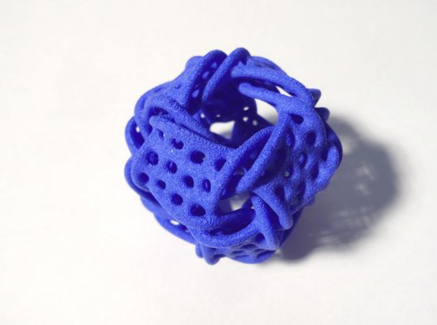 Cubocta-ducov in Blue Processed Versatile Plastic