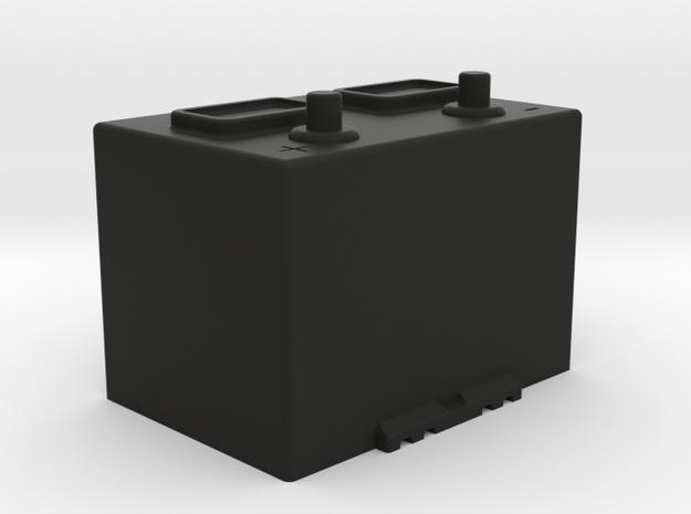 1:10 Scale Battery  in Black Natural Versatile Plastic