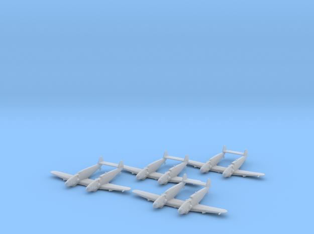 Messerschmitt Bf-109 Z 'Zwilling' x4 1:200 FUD in Smooth Fine Detail Plastic: 1:200