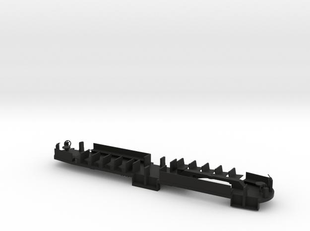 BQ&T 8000 O Floor with Interior #1 in Black Natural Versatile Plastic