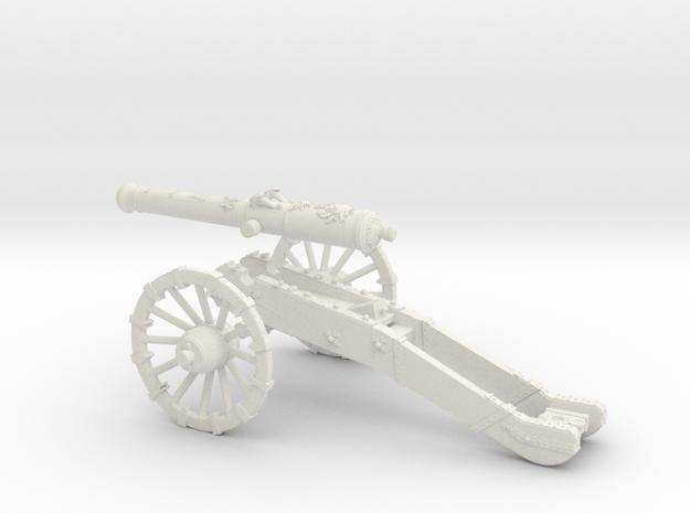 French gun 16 Pounder 7 Years War 28mm
