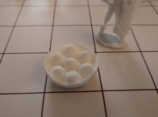 Tabletop: Dragon Nest in White Natural Versatile Plastic