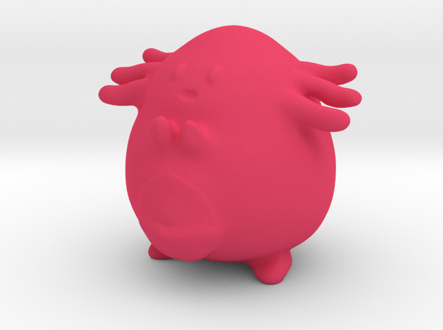 Chansey in Pink Processed Versatile Plastic