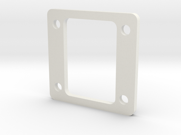 Front CG Shim YZ4 in White Natural Versatile Plastic