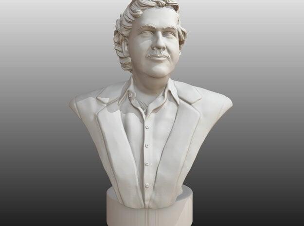 Pablo Escobar in White Natural Versatile Plastic