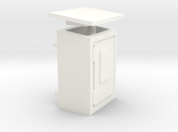 S1-241   Fernsprechkasten Wandmontage in White Processed Versatile Plastic