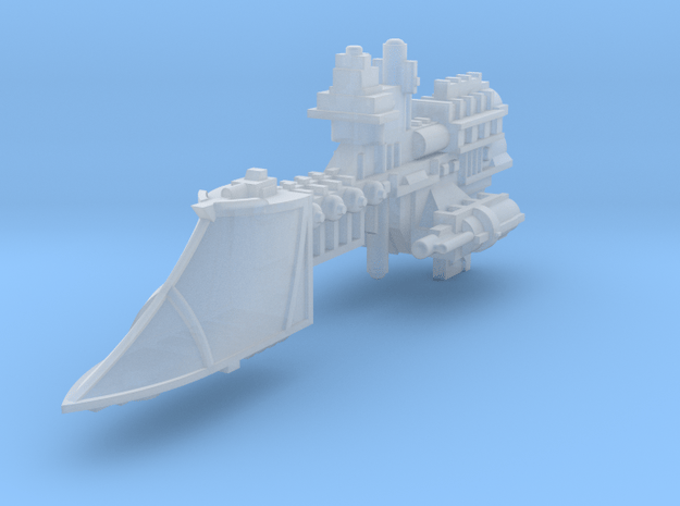 Sword class frigate in Smooth Fine Detail Plastic