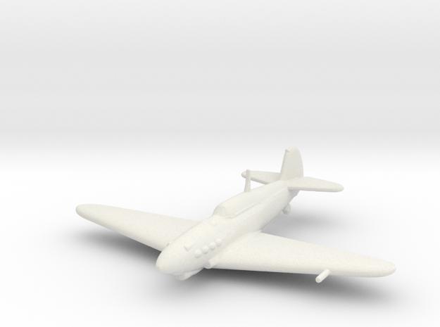 Yakovlev Yak-1 in White Natural Versatile Plastic: 1:200
