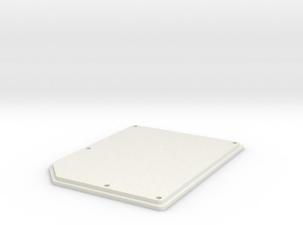 OpenBCI Box Lid in White Natural Versatile Plastic