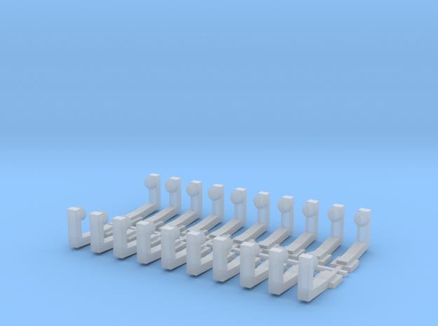 Stromschienenhalter 1984 (Code83) in Smooth Fine Detail Plastic