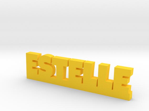 ESTELLE Lucky in Yellow Processed Versatile Plastic