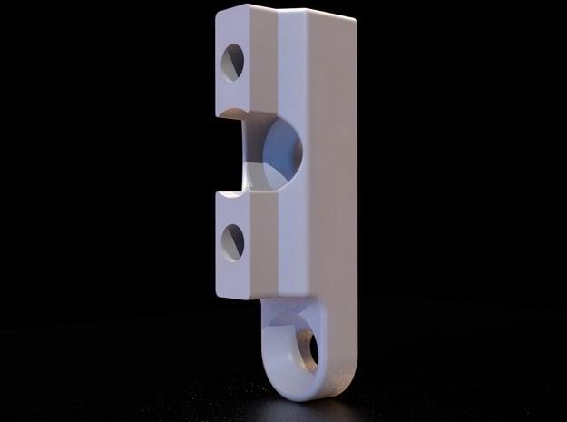 Brompton Carrier Adapter for Tern or Dahon Folders in White Natural Versatile Plastic