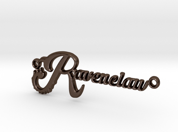 Ravenclaw Pendant in Polished Bronze Steel