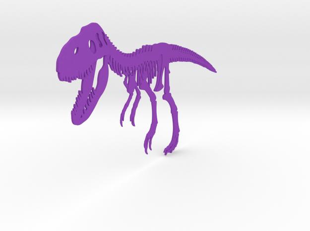 T-REX in Purple Processed Versatile Plastic