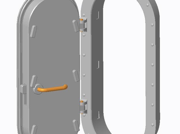 Schott Typ-A 1:40 (4 Stück - 2x Links und 2x Recht in Smooth Fine Detail Plastic