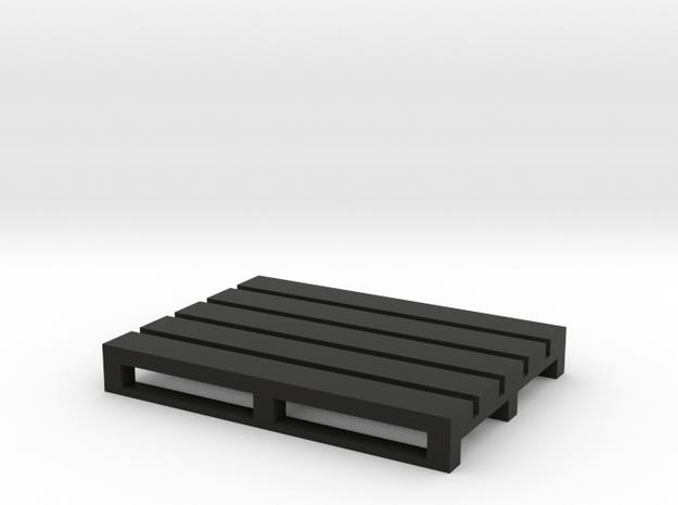 Pallet Coaster 3 in Black Natural Versatile Plastic