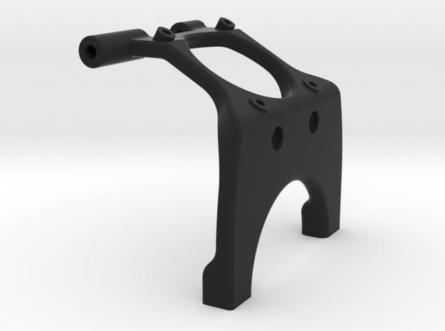 22 2.0 mm Saddle Brace 30mm for 3 Gear Tranny in Black Natural Versatile Plastic