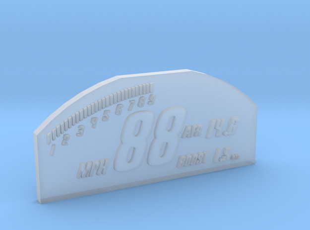 1/10 SCALE RACEPAK SCREEN in Smooth Fine Detail Plastic