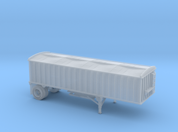 N-Scale CPS/Manac Pup Grain Trailer with Tarp in Smoothest Fine Detail Plastic