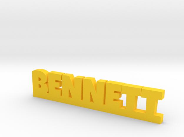 BENNETT Lucky in Yellow Processed Versatile Plastic