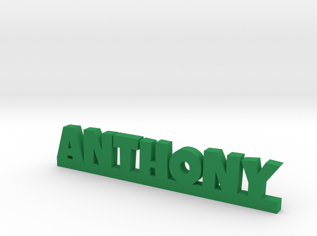 ANTHONY Lucky in Green Processed Versatile Plastic