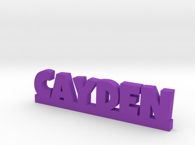CAYDEN Lucky in Purple Processed Versatile Plastic
