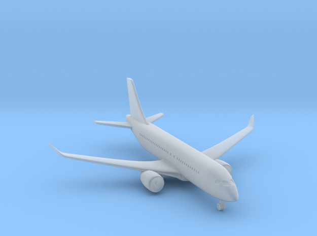 1/500 Bombardier CS100 in Smooth Fine Detail Plastic
