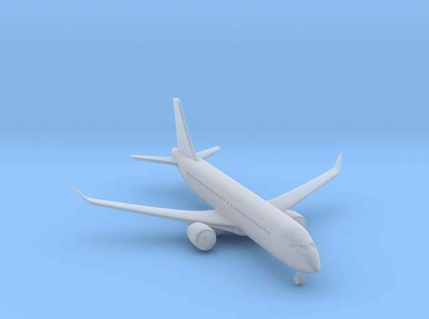 1/500 Bombardier CS300 in Smooth Fine Detail Plastic